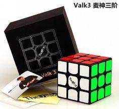 1pcs 3x3x3 QIYI Magic Cube Ultra-Smooth Professional Speed Puzzle Twist Toy #12