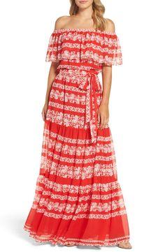 16d295caee8 Eliza J Off the Shoulder Maxi Dress (Regular   Petite) Chic Dress