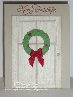Merry Christmas! by shoogendoorn - Cards and Paper Crafts at Splitcoaststampers