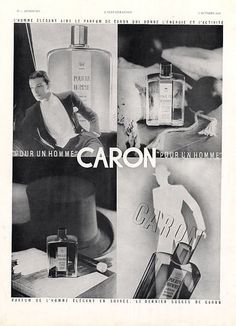 Caron Pour Un Homme 1934 Was The Perfume For A Dashing 1930s Gent