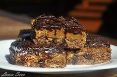Prajitura Brath, cu nes si nuca Romanian Desserts, Romanian Food, Romanian Recipes, Caramel Cappuccino, Chocolate Fudge, Sweet Cakes, Something Sweet, Cookie Bars, Bar Cookies