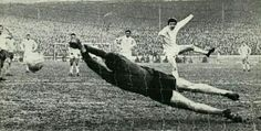 Chelsea 1 West Brom 2 in March 1969 at Stamford Bridge. Peter Bonetti makes a great save off Jeff Astle's spot kick in the FA Cup 6th Round.