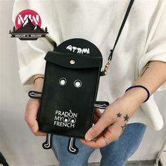 cartoon robot Crossbody Bag retro mobile phone Purse Bag stunt Harajuku letters  Item Type: HandbagsExterior: Open PocketNumber of Handles/Straps: SingleClo...   https://nemb.ly/p/4JQgpeRf=_ Happily published via Nembol