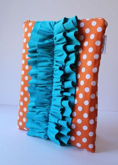 iPad sleeve  tangerine tango also available for by MarineParent