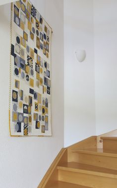 Luna Lovequilts - Infinité III - on the stairs