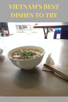 This is the list of what to eat in Vietnam based on my month travels in Vietnam on South East Asia backpacking route. Vietnamese cuisine is among the best in the world. These are the best Vietnamese food I had in Vietnam and explanations of where I had them and why you should try them too. #VietnameseCuisine #VietnamFood #FoodInVietnam #VietnameseFood #TravelVietnam #WhatToEatInVietnam Vietnamese Cuisine, Vietnamese Recipes, Vietnam Travel Guide, Asia Travel, Prawn Stir Fry, Water Spinach, Working Holidays, Fast Food Chains, Best Dishes