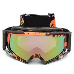 Motocross Helmet Goggles Racing Anti-UV  Eyewear For Motorcycle Off Road ATV Quad Dirt Bike
