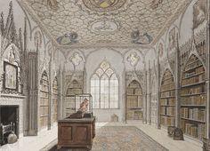 La biblioteca di Strawberry Hill