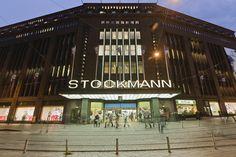 at Stockmann Dep't store in Helsinki Finland