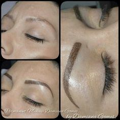 Some of my stunningly natural Hairstroke brows, tattoo\'d with a ...