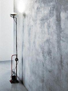 Indirect #light floor #lamp TOIO by FLOS | #design Achille Castiglioni, Pier Giacomo Castiglioni