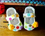 I love these! This etsy shop Has the sweetest little shoes!