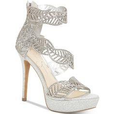 d6f2815a0cbf Jessica Simpson Bonilynn Platform Dress Sandals ( 110) ❤ liked on Polyvore  featuring shoes