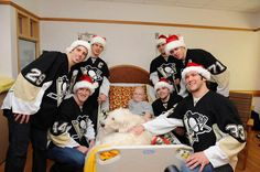 PENS VISIT CHILDREN'S HOSPITAL OF PITTSBURGH OF UPMC - PRECIOUS!!!!!  All of it!