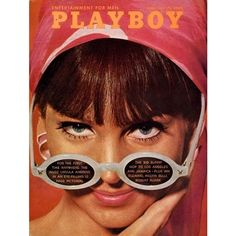 PlayBoy Mag Covers Featuring Eyewear ❤ liked on Polyvore featuring accessories, eyewear, holiday glasses and cocktail glasses