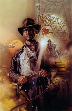 Indiana Jones by Tsuneo Sanda / No one else could be Indiana Jones except Harrison Ford ✔️ Movie Posters For Sale, Movie Poster Art, Sale Poster, Harrison Ford, Henry Jones Jr, Indiana Jones Adventure, Indiana Jones Films, Movies And Series, The Lone Ranger
