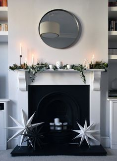 Christmas styling with Rose & Grey   Part 2 - natural greenery   These Four Walls blog