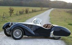 1938, Bugatti type 57 C Roadster