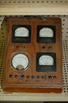 pics of old eletronics | Old Electronic MultiMeter | Flickr - Photo Sharing!