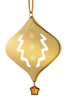 The annual collectible Christmas ornament by Finnish Kalevala Koru, Design: Revontuli