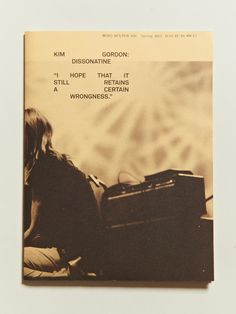 Mono Kultur Kim Gordon