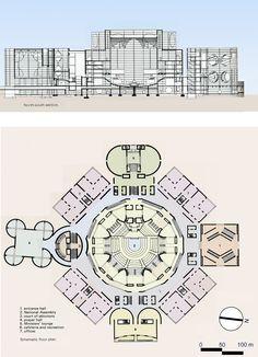 Revit Architecture, Islamic Architecture, Alvar Aalto, Le Corbusier, Architectural Thesis, Louis Kahn, Houses Of Parliament, Design Projects, How To Plan