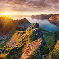 Sunset in Senja, Norway
