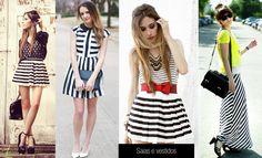 vestidos listrados - Pesquisa Google