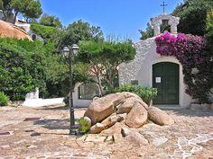 The little church I could see from my flat in Piazza de Fiori,Porto Rafael, Sardinia.