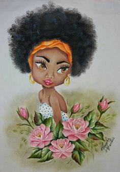 Disney Characters, Fictional Characters, Disney Princess, Painting, Butterfly Art, Black Girls, African Dolls, Avocado, Drop Cloths