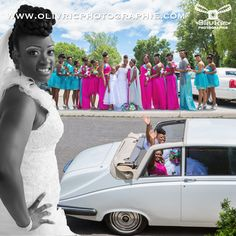 Bride ready to go  #olivricphotographie #weddingphotographer #photographer #limo #bridesmaid #montreal #montrealweddingphotographer #dress #blackwedding #montage #photoshop #chic #chicwedding #photography