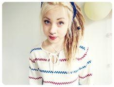 Girl strap teen