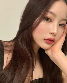 Pretty Korean Girls, Cute Korean Girl, Asian Girl, Korean Makeup Look, Asian Makeup, Korean Natural Makeup, Job Interview Makeup, Bora Lim, Korean Hair Color