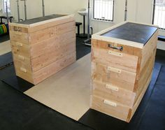 Jerk Block Building Tutorial by Greg Everett - Equipment - Catalyst Athletics - Olympic Weightlifting Crossfit Equipment, Home Gym Equipment, No Equipment Workout, Training Equipment, Crossfit Garage Gym, Crossfit At Home, Home Made Gym, Diy Home Gym, Outdoor Gym