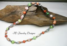 Mens Fashion Style Multi color Clay Aztec by IDJewelryDesigns
