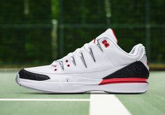 "ccae821ea63 #sneakers #news Nike Zoom Vapor Tour AJ3 ""Fire Red"" Releases This Week"