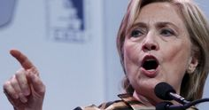 hillary clinton wags her finger at
