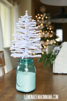 DIY-Pipe cleaner tree