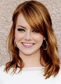 Emma Stone's Auburn Hair Color