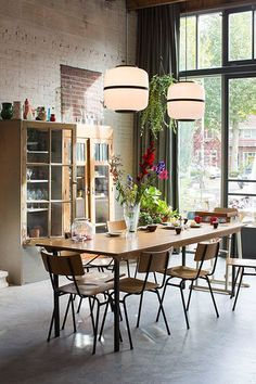Dining room lighting: Industrial dining room ideas for your dining room decor | www.diningroomlighting.eu