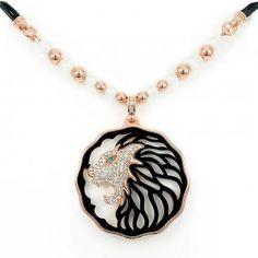 Lions Head Pendant Necklace