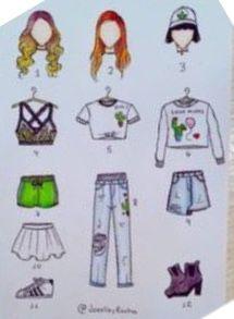 Cool Art Drawings, Pencil Art Drawings, Kawaii Drawings, Beautiful Drawings, Colorful Drawings, Art Drawings Sketches, Cartoon Drawings, Fashion Design Drawings, Fashion Sketches
