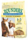 Banana Rounders Horse Treat 30 oz g) All natural treat fortified with vitamins and minerals Great for a treat or a reward Unique flavor horses can't resist Zinc Sulfate, Mini Pony, Horse Treats, Beef Cattle, Baked Banana, Dog Snacks, Vitamins And Minerals, Nutrition, Horses