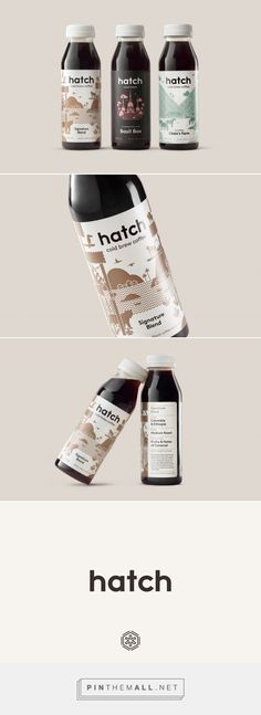 Hatch Cold Brew Coffee Design by Tung