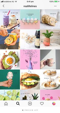 healthy food list for kids diet free recipes Ig Feed Ideas, Instagram Feed Ideas Posts, Instagram Feed Layout, Instagram Grid, Instagram Design, Instagram Blog, Instagram Story, Food Graphic Design, Web Design