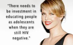 Help support #CharlizeTheron's mission.