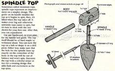 #1799 Wooden Folk Toys Plans - Wooden Toy Plans