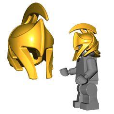 Fantasy Weapons for LEGO® Minifigures Lego Minifigs, Lego Ninjago, Steampunk Wings, Lego Guns, Warrior Helmet, Lego Craft, Medieval Weapons, Lego Parts, Marvel Jokes