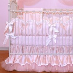 Fair Maiden Crib Set by Bratt Decor-fair maiden crib set, bratt decor, baby, girl, bedding