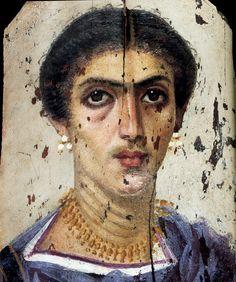 Retratos de Fayum - pintura, arqueología